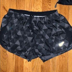 Women's Nike pattern shorts Size medium
